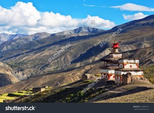 stock-photo-ancient-bon-stupa-in-saldang-village-nepal-saldang-lies-in-nankhang-valley-the-most-populous-of-274609718